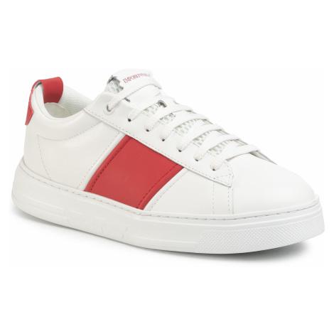 Sneakersy EMPORIO ARMANI - X4X287 XM096 M569 Opt.Wht/True Red/Opt