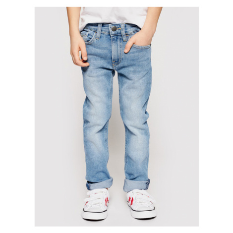 Calvin Klein Jeans Jeansy Essential IB0IB00742 Niebieski Slim Fit