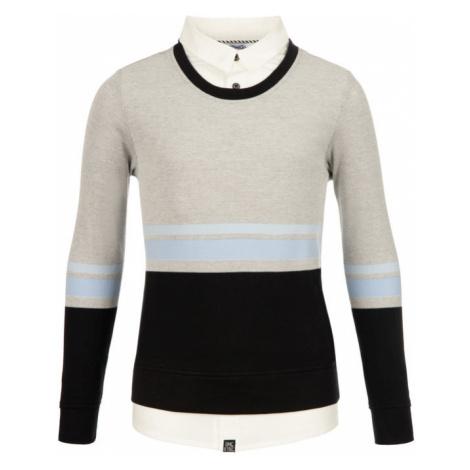 Primigi Sweter Polo Ml Con Finta Camicia 43212091 Szary Regular Fit
