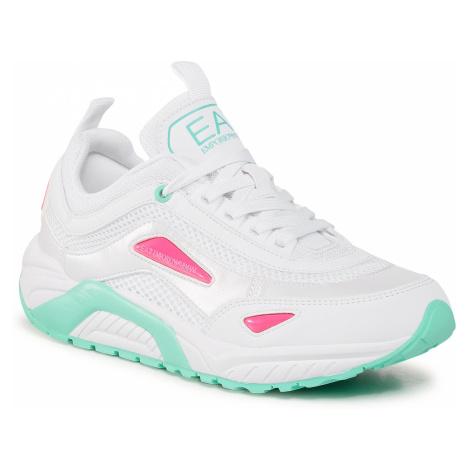 Sneakersy EA7 EMPORIO ARMANI - X8X061 XK141 N075 Opt White/Green