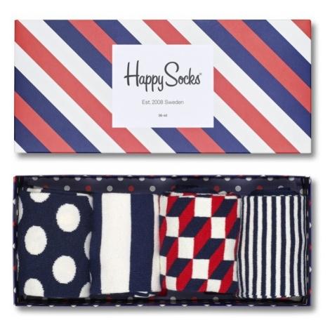 Skarpetki Happy Socks Giftbox 4 pak XBDO09-6000