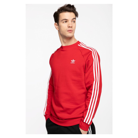 Bluza adidas 3-Stripes Crew Gn3484 Red