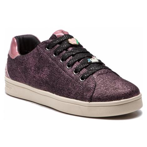 Sneakersy GEOX - J Djrock G.A J844MA 0BNHI C8007 D Dk Rose