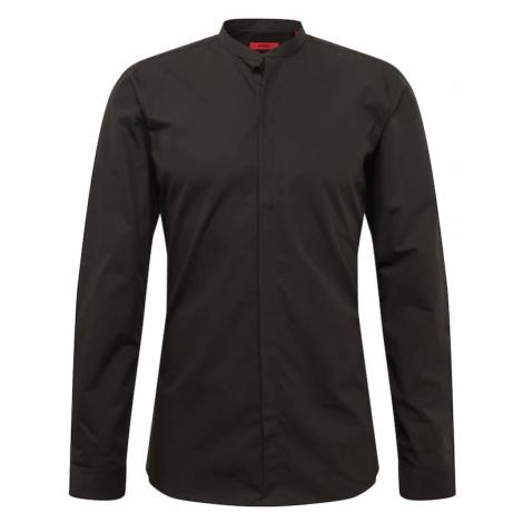 HUGO Koszula biznesowa czarny Hugo Boss
