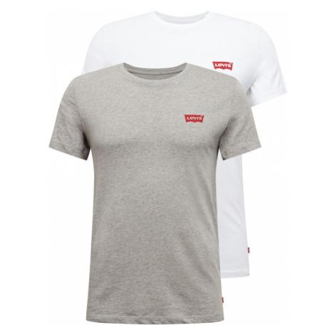 LEVI'S Koszulka biały / szary Levi´s