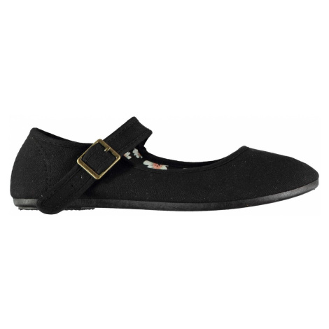 Slazenger Canvas Mary Jane Ladies Shoes