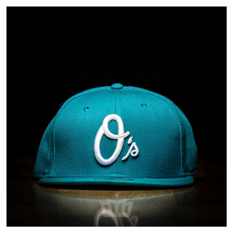 New Era 59Fifty Baltimore Orioles Full Cap Teal