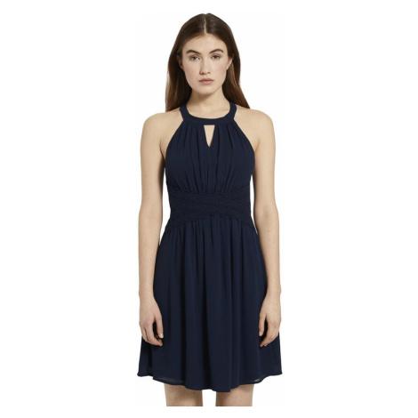 Granatowa sukienka damska Tom Tailor Denim