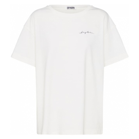 DRYKORN Koszulka oversize 'KYLA_P28' biały