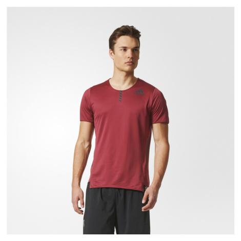 Koszulka adidas AdiZero Tee M Bordowa