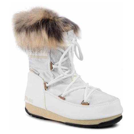 Śniegowce MOON BOOT - Monaco Low Wp 2 240088002 White