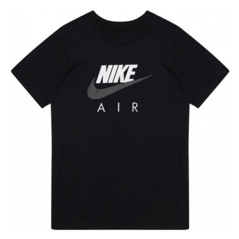 NIKE T-Shirt Air Fa20 1 CZ1828 Czarny Standard Fit