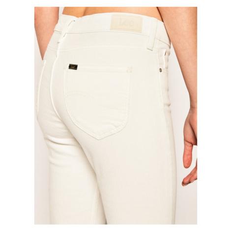 Lee Jeansy Skinny Fit Scarlett Cropped L30CKW36 Biały Skinny Fit