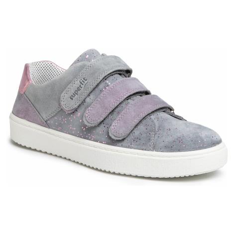 Sneakersy SUPERFIT - 6-06492-25 D Hellgrau
