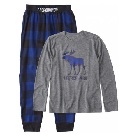 Abercrombie & Fitch Piżama niebieski / szary