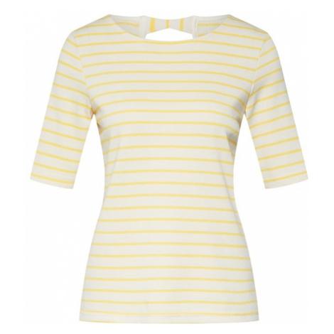 VERO MODA Koszulka 'VMHANNE' żółty / biały