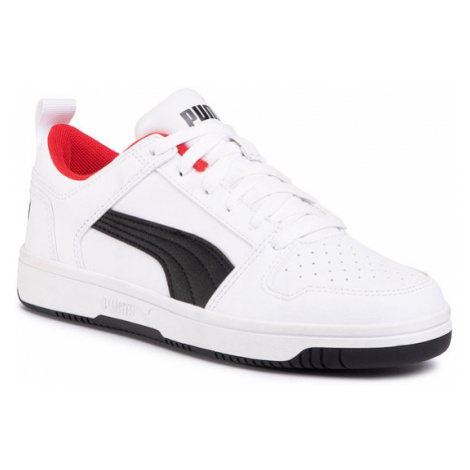 Puma Sneakersy Rebound Layup Lo Sl Jr 370490 01 Biały