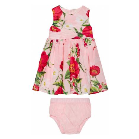Guess Sukienka codzienna A1GK15 WA2T0 Różowy Regular Fit