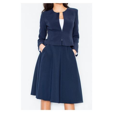 Figl Woman's Jacket M324 Navy Blue