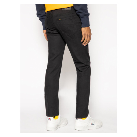 Lee Jeansy Slim Fit Rider L701YC47 Czarny Slim Fit