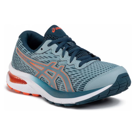 Buty ASICS - Gel-Cumulus 22 Gs 1014A148 Light Steel/Magnetic Blue 400