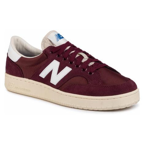 Sneakersy NEW BALANCE - PROCTCCD Bordowy