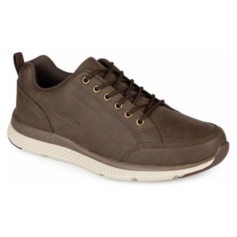 JASSY męskie buty do chodzenia brązowe LOAP