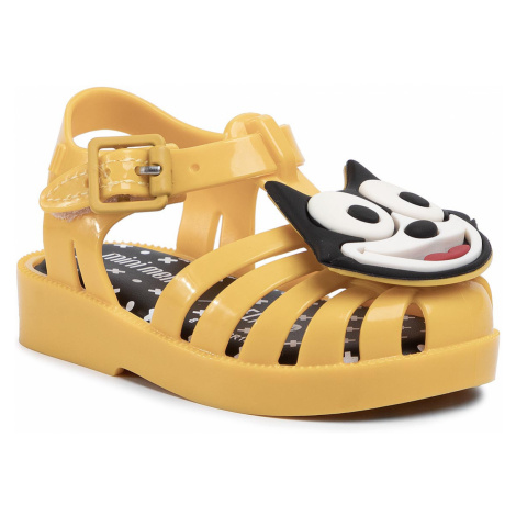 Sandały MELISSA - Possession + Gato 32675 Yellow/Black/White 53619