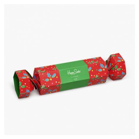 Skarpetki Happy Socks Christmas Cracker Holly Gift Box XHOL02 4300