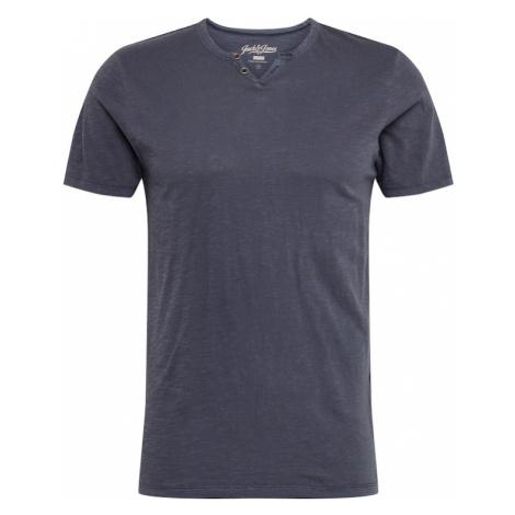 JACK & JONES Koszulka 'SPLIT' niebieski