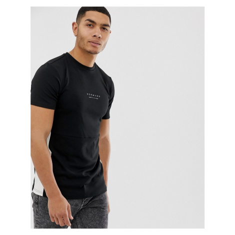 Hermano t-shirt with logo in black