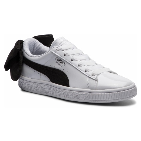 Sneakersy PUMA - Basket Bow Sb Wn's 367353 03 Puma White/Puma Black
