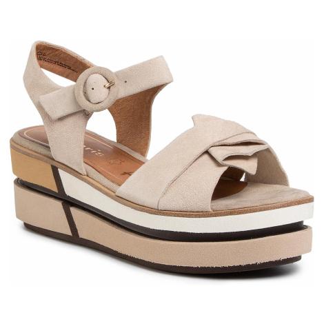 Sandały TAMARIS - 1-28024-24 Antelope 375