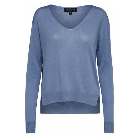 SELECTED FEMME Sweter niebieski