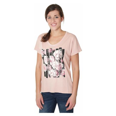 koszulka Converse Blocked Floral Type Femme/10004654 - A02/Dusk Pink