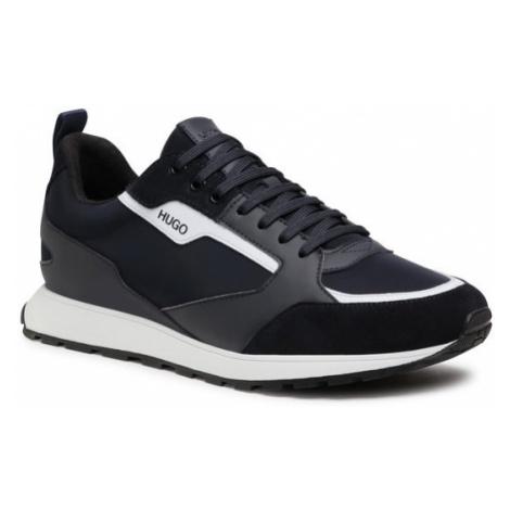 Hugo Sneakersy Icelin 50451740 10234982 01 Granatowy Hugo Boss