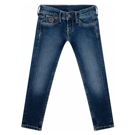Pepe Jeans Jeansy PG201050 Granatowy Skinny Fit