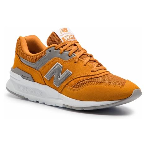 Sneakersy NEW BALANCE - CM997HCF Pomarańczowy