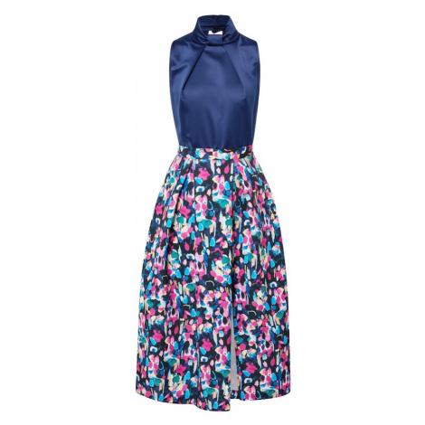Closet London Sukienka koktajlowa granatowy / mieszane kolory