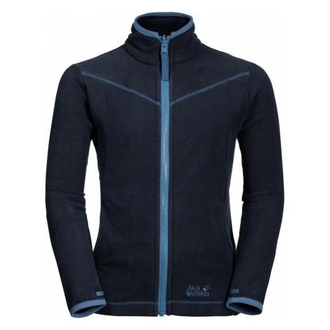 JACK WOLFSKIN Bluza polarowa funkcyjna 'Sandpiper' podpalany niebieski / niebieska noc
