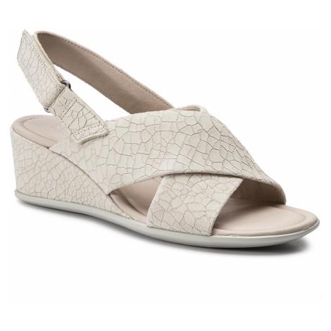 Sandały ECCO - Shape 35 Wedge Sandal 25016302281 Vanilla