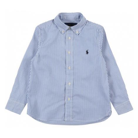 POLO RALPH LAUREN Koszula biały / jasnoniebieski
