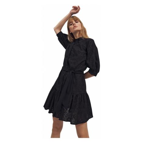 Sukienka z falbaną Nife
