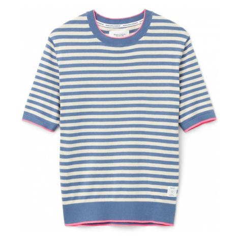 Marc O'Polo DENIM Sweter niebieski / różowy pudrowy / żółty / mieszane kolory / beżowy