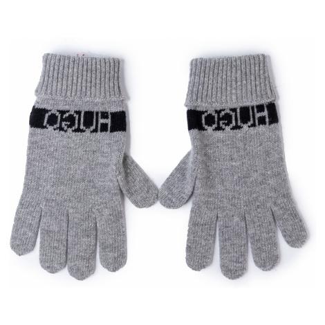 Rękawiczki Męskie HUGO - Wolo 50415365 035 Hugo Boss