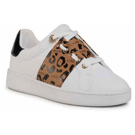 Sneakersy GUESS - Rejeena FL7RJA ELE12 LEOPA