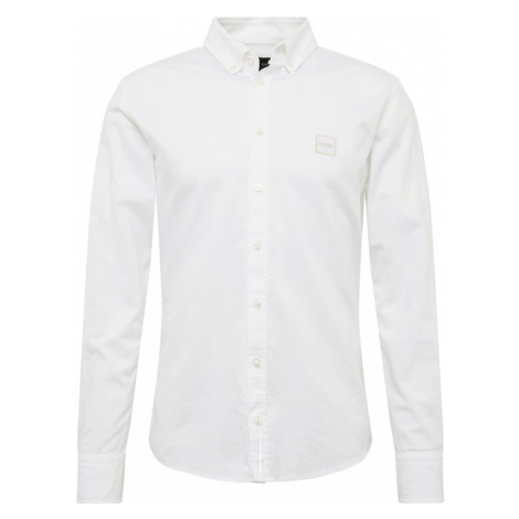 BOSS Koszula biznesowa 'Mabsoot' biały Hugo Boss