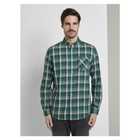 TOM TAILOR Koszula zielony