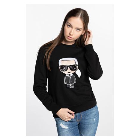 Bluza Karl Lagerfeld Ikonik Karl Sweatshirt 210W1820-999 Black