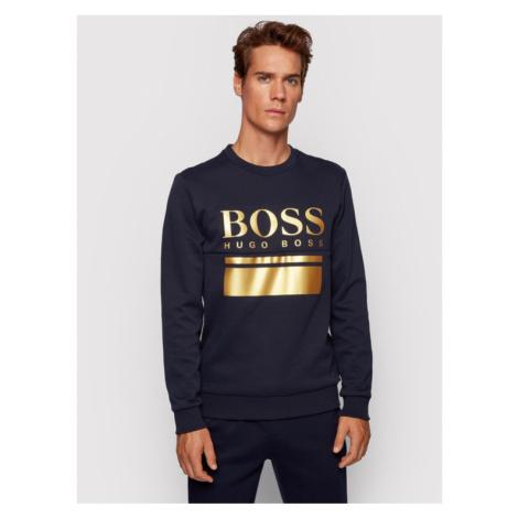 Boss Bluza Salbo 1 50434921 Granatowy Slim Fit Hugo Boss